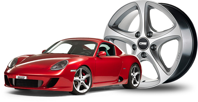 Alu Winterkomplettradsatz für Porsche Cayman und Boxster Typen 987
